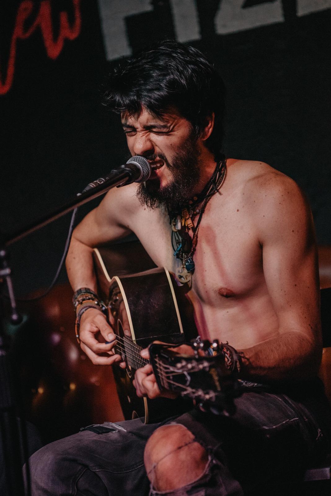 Fran Mariscal en concierto